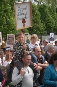 Trauermarsch im Treptower Park